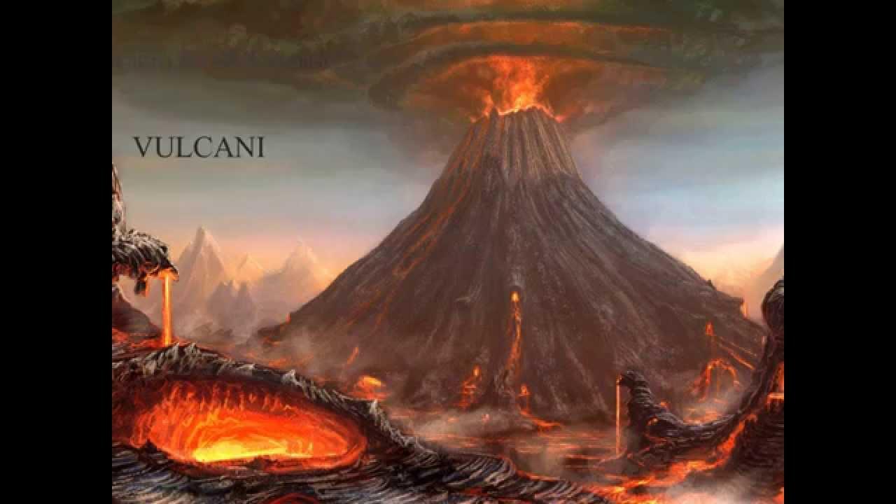 Vulcani Disegni: YouTube