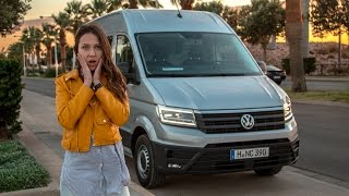 видео Микроавтобус Volkswagen Crafter – технические характеристики