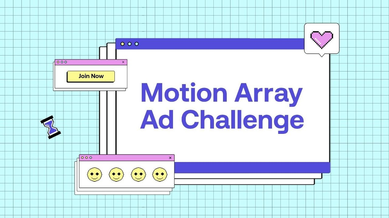 Motion Array Ad Challenge | #MAadchallenge | Submission extended until June 16!