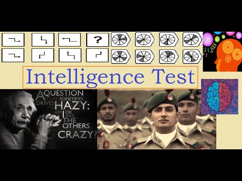 Intelligence Test by NUST , ARMY , PMA , PAF , NAVY etc