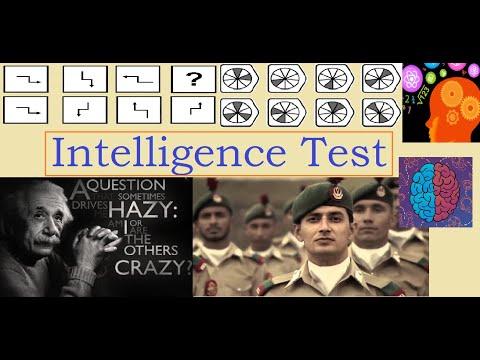 Intelligence Test by NUST , ARMY , PMA , PAF , NAVY etc