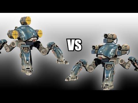Fujin (Orkans) vs Fujin (Tarans) - AnakinTEST #13 | War Robots