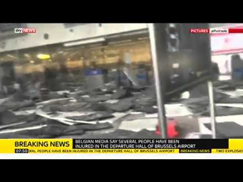Brussels Attack: Inside The Airport After Bombings