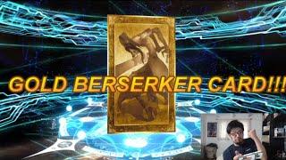 Fate/Grand Order Onigashima Hatcher: Gold Berserker Card!!