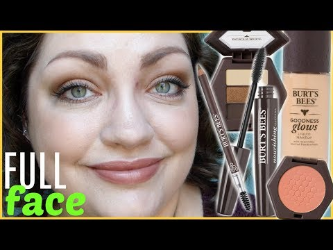 Burt's Bees Makeup | FULL FACE First Impressions