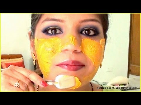 Turmeric Face Mask Pack For Acne Treatment & Clear glowing Skin | SuperPrincessjo