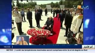 الرئيس عبد العزيز بوتفليقة يترحم على أرواح الشهداء