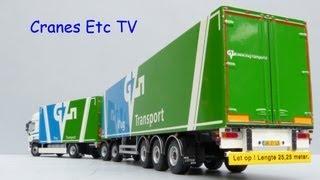 WSI DAF CF 85 Box Truck + Trailer -