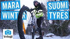 Nastarengas Suomi Tyres W106 vs. Schwalbe Marathon Winter - mitä eroa?