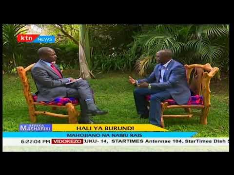 Afrika Mashariki  2018/01/21-Hali ya Burundi