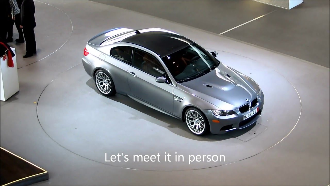 BMW European Delivery >> BMW European Delivery 2011 e92 M3 ZCP Space Gray / Fox Red - YouTube