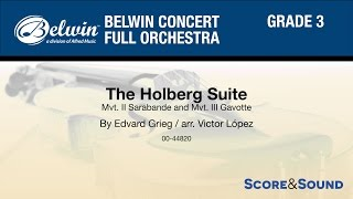 The Holberg Suite arr. Victor López - Score & Sound