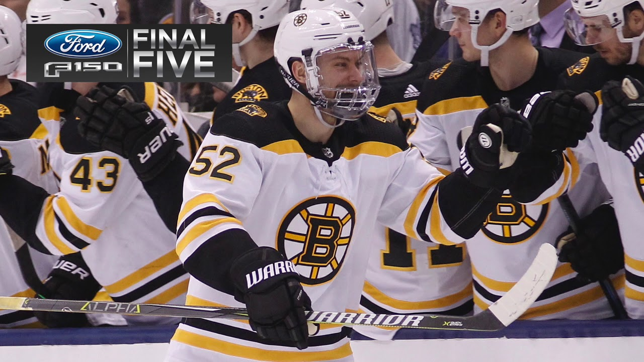 Ford Final Five: B's Take Down Leafs, 3-2