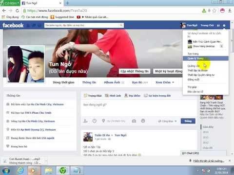 Cách đổi tên facebook quá số lần