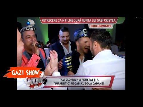 Gazi Demirel Show la nunta Gabrielei&Tavi Clonda Kanal D