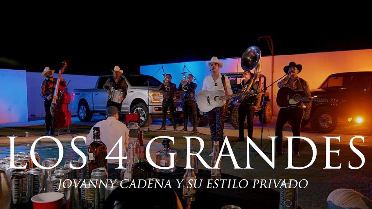 Jovanny Cadena - Los 4 Grandes  (En Vivo)