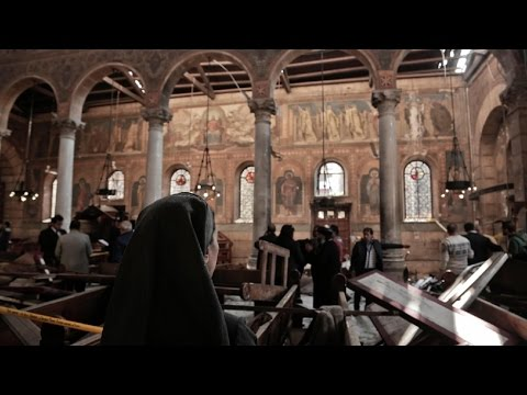 Cairo bombing:  25 killed by bomb blast at St Mark's Cathedral | Egypt