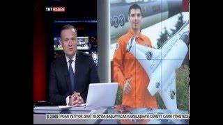 Türkiye'nin en genç astronotu halil kayikci trt haber'de