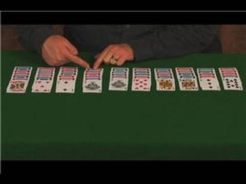 Solitaire Games : The Rules of Spider Solitaire