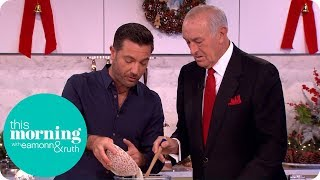 Gino D'Acampo Makes Amaretti Biscuits With Len Goodman! | This Morning