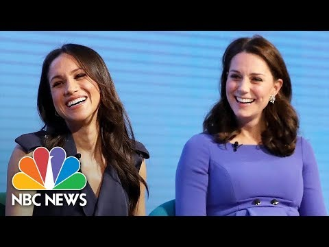 Meghan Markle Tells Charity Event Women 'Need To Feel Empowered' To Speak | NBC News