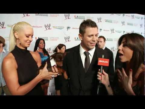 The Miz and Maryse Interview at WWE Wrestlemania Premiere Party