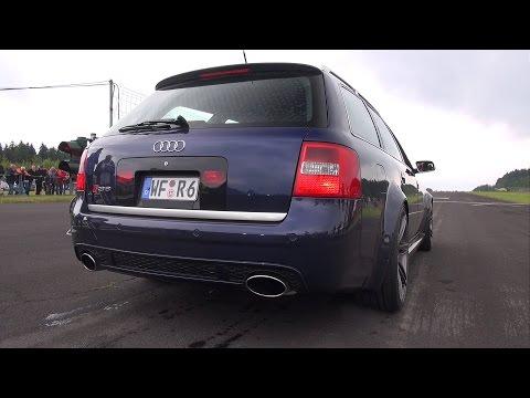 Audi RS6 Avant C5 4.2L V8 Biturbo Exhaust Sounds!