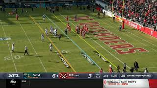 First XFL Touchdown | Dragons vs. Defenders | XFL 2020