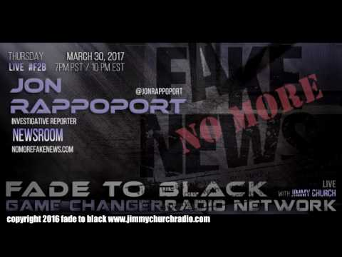 Ep. 634 FADE to BLACK w/ Jon Rappoport, Defango : NMFNR, Cicada 3301 : LIVE