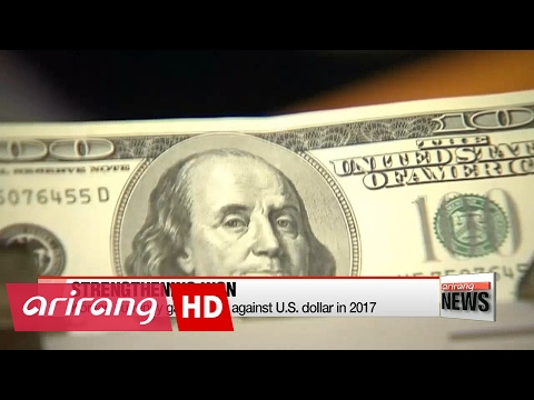 Korean Won Appreciates Second Fastest Against U.S. Dollar In 2017
