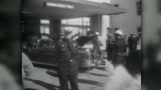 Wfaa was one of the first media outlets in world to break news that president john f. kennedy had been shot dealey plaza dallas. this is a look...