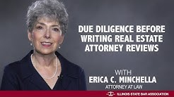 Due Diligence Before Writing Real Estate Attorney Reviews
