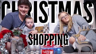 Our Family's First Christmas Tree | Teen Mom Vlog