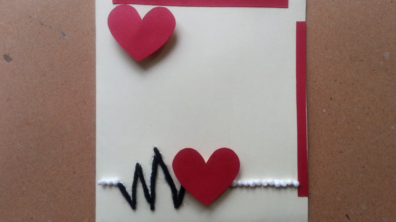 Make a Hearty Valentines Day Card  DIY Crafts  Guidecentral