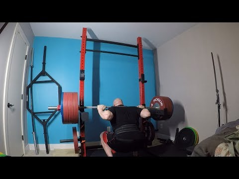 6-1-2018 Bulgarian Training - Squat, CGBP, Chin Up & Press - Avoiding Ego With Weight Increases