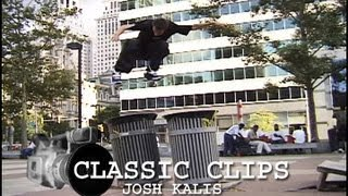 Josh Kalis Skateboarding Classic Clips #39 Love Park Philly
