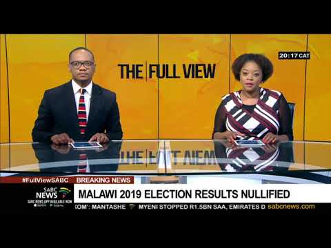 BREAKING NEWS | Malawi 2019 election results nullified