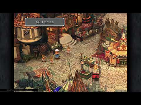 FINAL FANTASY IX 1000+ Jump Rope Hail to the King Trophy PS4
