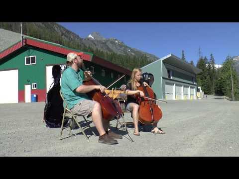 Cello On Tailings Holden Village Hallie Parkins