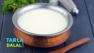 Curds, How to make curds, dahi, yogurt at home by Tarla Dalal