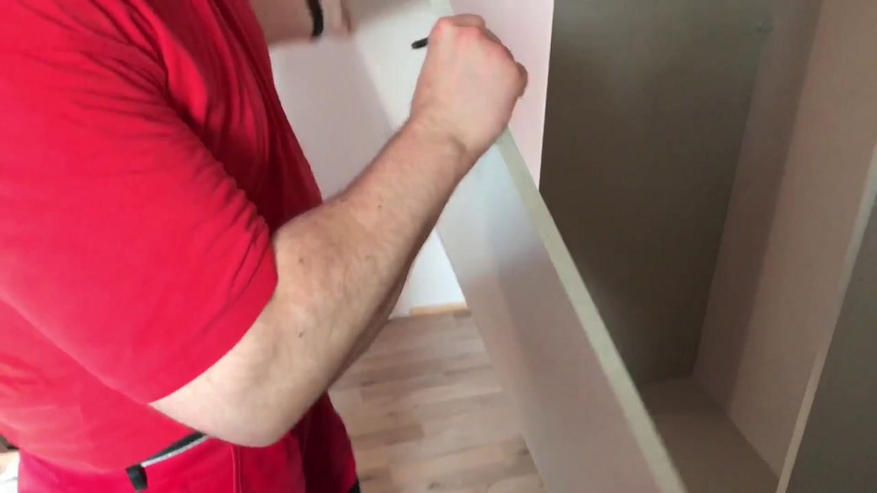 Schrank Schiebeturen Kleiderschrank Aufbauen Rauch