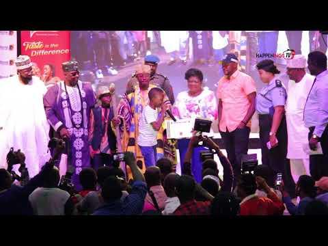 Megabyte Thrill Odulade Adekola, Korede Bello,  others @ Entertainment meets Security Program