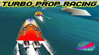 Turbo Prop Racing ( Rapid Racer ) - Gameplay Moments PS1 HD