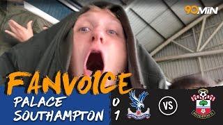 Davis goal defeats hodgson's palace | crystal palace 0-1 southampton | 90min fanvoice