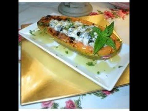 Papaya Boats Hi-fiber Dessert Recipes