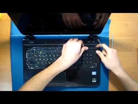 Как разобрать ноутбук HP Pavilion 15