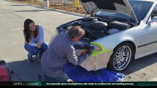 Clearview Automotive Headlight Restoration Kit / How to Repair your Headlights / Look New again! M5