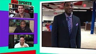 Eagles Fan Sports Anchor Reacts to Super Bowl Score | TMZ Sports