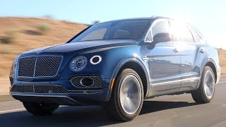 2017 Bentley Bentayga - Review and Road Test
