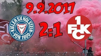 Holstein Kiel 2:1 1. FC Kaiserslautern - 9.9.2017 - Niederlage in den letzten Sekunden